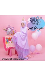 VALUE SET UNICORN + SEJADAH